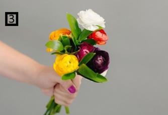 DIY bunga tangan6