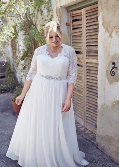 Style Pakaian Perkahwinan Untuk Plus-saiz